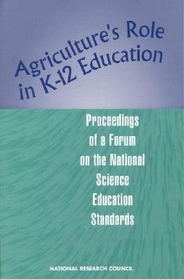 Agriculture s Role in K 12 Education