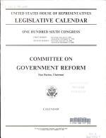 Legislative Calendar PDF