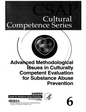 Advanced Methodological Issues in Culturally Competent Evaluation for Substance Abuse Prevention PDF