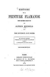 Histoire de la peinture flamande depuis ses débuts jusqu'en 1964 par Alfred Michiels: Volume9