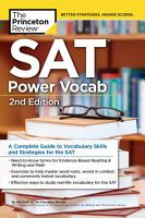 SAT Power Vocab  2nd Edition PDF