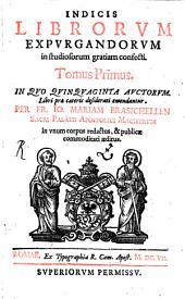 Index Librorum expurgandorum: 1