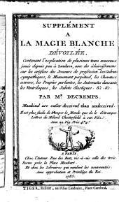 Supplement a la Magie Blanche Dévoilé