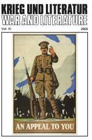 Krieg Und Literatur   War and Literature Vol  XI 2005 PDF