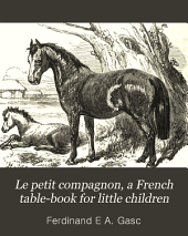 Le petit compagnon, a French table-book for little children