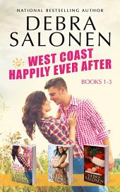 West Coast Happily-Ever-After Series: Books 1-3 (Her Forever Cowboy, Never Say Never, Caleb's Christmas Wish)