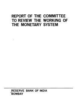 Report of the Committee to Review the Working of the Monetary System PDF