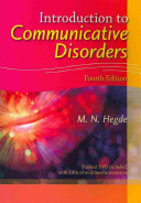 Introduction To Communicative Disorders Book PDF