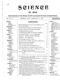 Science of Man PDF