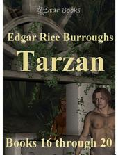 Tarzan books 16 through 20