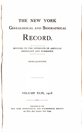 The New York Genealogical and Biographical Record: Volume 49