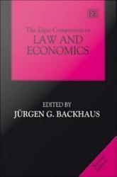 The Elgar Companion To Law And Economics Book PDF
