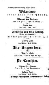 Brittische Dichter-Proben: Nach Lord Byron und Georg Crabbe