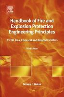 Handbook of Fire and Explosion Protection Engineering Principles PDF