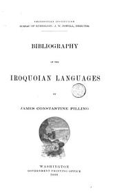 Bibliography of the Iroquoian Languages
