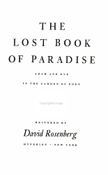 The Lost Book Of Paradise Book PDF