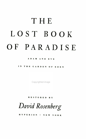 The Lost Book of Paradise PDF