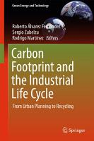 Carbon Footprint and the Industrial Life Cycle PDF