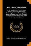 M T  Cicero  His Offices PDF
