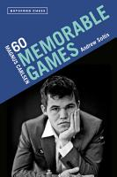 Magnus Carlsen  60 Memorable Games PDF