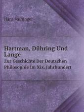 Hartman, D?hring Und Lange