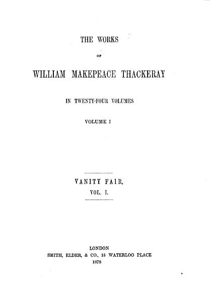 The Works of William Makepeace Thackeray PDF