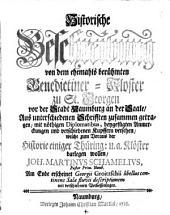 (Thüringische Kloster-Historie.) (Fingierter Sammeltitel.)