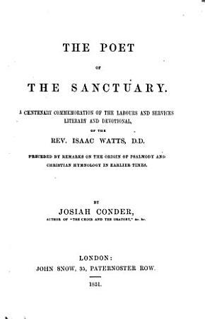 The Poet of the Sanctuary PDF