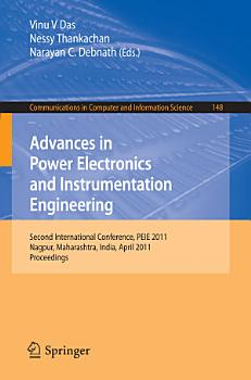Advances in Power Electronics and Instrumentation Engineering PDF