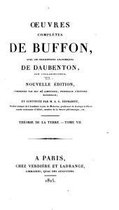 Oeuvres complètes de Buffon: avec les descriptions anatomiques de Daubenton, son collaborateur, Volume7,Partie7