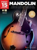 First 15 Lessons   Mandolin PDF