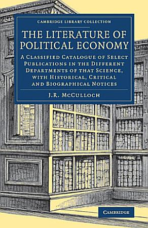 The Literature of Political Economy PDF
