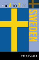 The A to Z of Sweden PDF