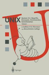 UNIX System V.4: Begriffe, Konzepte, Kommandos, Schnittstellen, Ausgabe 4