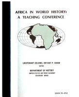 Africa in World History PDF