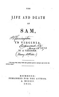 The Life and Death of Sam  in Virginia PDF