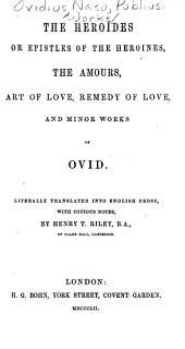 Ovid: Volume 3