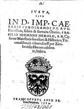 Iusta, sive in D. Imp. Caesaris Ferdinandi P.F. Aug. excessum, subita et fortuita oratio