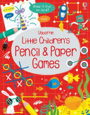 Little Childrens Pencil and Paper Games
