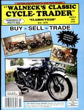 WALNECK'S CLASSIC CYCLE TRADER, MARCH 1993