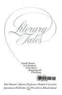Literary Tales PDF
