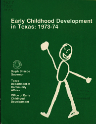 Early Childhood Development In Texas Book PDF