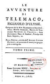 Le avventure di Telemaco, figliuolo d'Ulysse