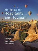 Marketing for Hospitality and Tourism PDF