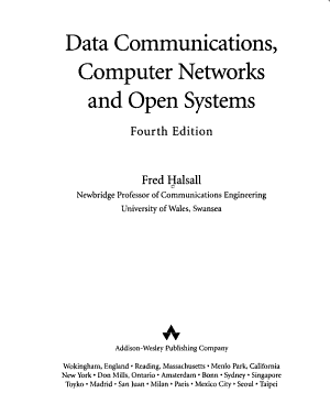 Data Communications  Computer Networks  and Open Systems PDF