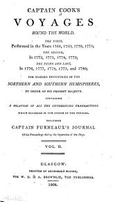Captain Cook's Voyages Round the World: ... Including Captain Furneaux's Journal ...