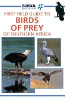 First Field Guide to Birds of Prey of Southern Africa PDF