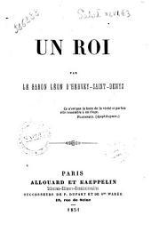 Un roi par Le baron Leon D'Hervey-Saint-Denys et D. Carlo Montelieto