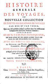Histoire générale des voyages: Volume33