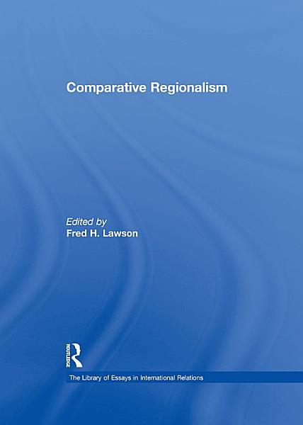Comparative Regionalism